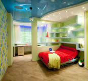 Designing A Bed Design A Child U0027s Room In A Contemporary Style With A Bed And A