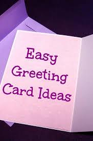 greeting card easy greeting card ideas i like it frantic