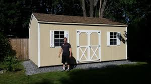 12 u0027 x 20 u0027 cottage style storage shed built on location in