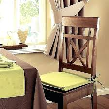 Dining Room Chair Cushion Covers Dining Room Chair Pads With Ties Dining Chair Cushion Seat Cushion
