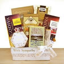 sympathy baskets healing sympathy gift basket hayneedle