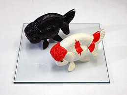 aquastage rakuten global market resin cast goldfish ornaments