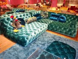 Chesterfield Sofa Australia by Modern Chesterfield Sofa By Bretz Blue Velour Lounge German