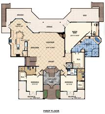 beach style house plan 3 beds 4 00 baths 4521 sq ft plan 548 10