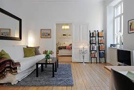 Decorating Open Floor Plan Apartment Interior Decorating Good 17 Swedish 58 Square Meter