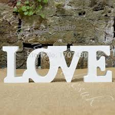 wooden letters home decor this is a great gift free shipping wedding decoration letters