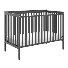 Gray Convertible Crib Storkcraft Sheffield Ii 4 In 1 Convertible Crib Gray Walmart