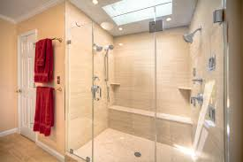 Contemporary Bathroom Photos by Contemporary Bathroom With Double Shower In Reston Modern