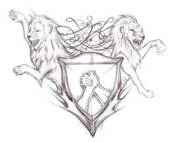 shield tattoo designs lions shield tattoo design by shield
