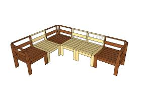 outdoor sectional plans howtospecialist how to build step by