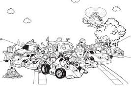 roary racing car characters coloring pages place