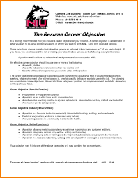 Resume Statement Examples by Career Objectives Examples For Cv Management Resume Career Sample