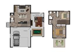 Rideau Centre Floor Plan by Beaver Homes And Cottages Tidewater