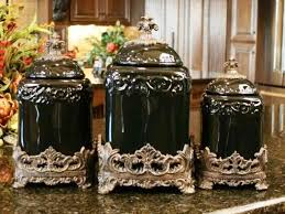 pottery kitchen canister sets the inexplicable mystery into ceramic kitchen canisters