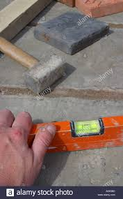 Laying Patio Slabs Paving Slabs Laying Stock Photos U0026 Paving Slabs Laying Stock