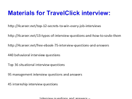 travel click images Travel click interview questions and answers jpg
