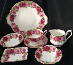 roses china royal albert parcels of time