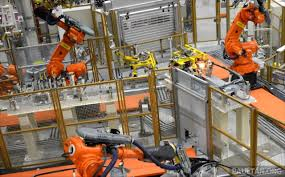bmw factory robots robot kills worker at volkswagen factory in germany
