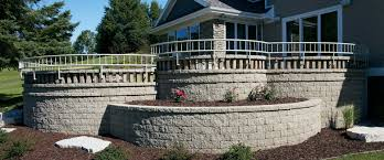 Block Wall Ideas by Retaining Walls