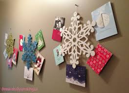 easy diy christmas card wreath ideally speaking