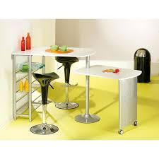 table de cuisine amovible table bar de cuisine amovible filamento métal blanc achat