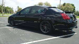 nissan maxima with rims speed off with this nissan maxima on tsw wheels