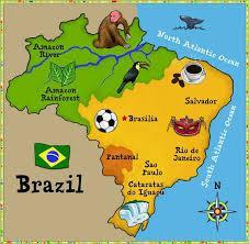 map of brazil i this map of brazil world thinking day international