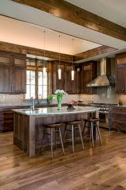 what color flooring goes with alder cabinets 40 rustic kitchen design ideas to