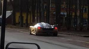 koenigsegg tron mystery koenigsegg spied could be the regera