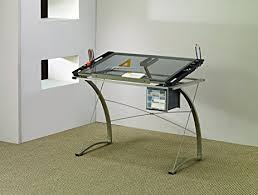 Drafting Table Amazon Com Coaster Desks Artist Drafting Table Desk Kitchen U0026 Dining