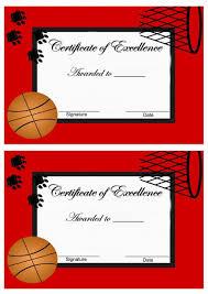 basketball awards u2013 birthday printable