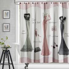 Gorgeous Shower Curtain by Amazon Com Ds Bath Haute Shower Curtain Hooks Fashion Bathroom