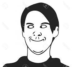 Troll Guy Meme - photostock vector troll guy meme face for any design arenawp