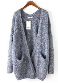 cardigan sweaters grey sleeve cardigan sweater must