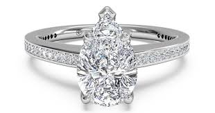 pear shaped ring pear shaped ring engagement rings