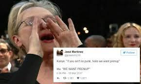 Shouting Meme - trending the 8 best meryl streep shouting lyrics memes we ve seen
