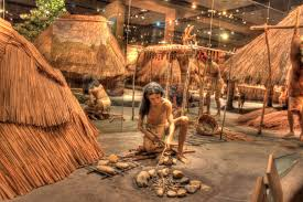 free stock photo of native american making fire at cahokia mounds
