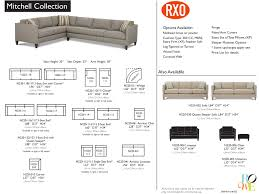 Rowe Sectional Sofas by Mitchell Sectional Gage Furniture