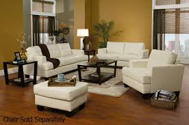samuel white leather sofa and loveseat set steal a sofa