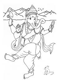 ganesha coloring coloring pages part 2