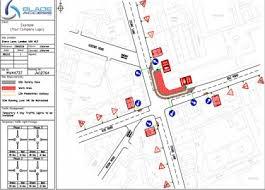 autocad design traffic service