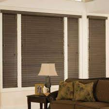 How To Shorten Blinds From Home Depot Home Decorators Collection Wood Blinds Blinds The Home Depot