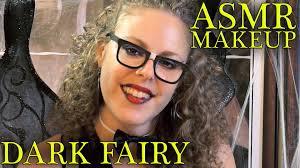 asmr makeup tingles 7 dark fairy makeup tutorial u0026 costume for