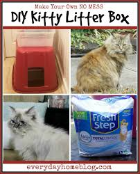 diy kitty litter box the everyday home