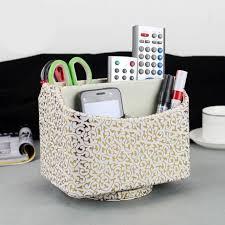 Rotating Desk Organizer New Fashion Rotating Desk Organizer Storage Box Remote Controller