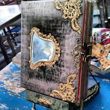 Antique Photo Album Antique Velvet And Brass Photo Album In Y37 Melrosetradingpost