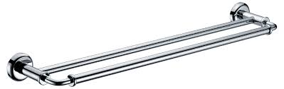 bath u0026 shower twin silver stainless steel towel bar for your