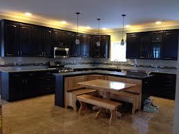 White Backsplash Tile For Kitchen Kitchen New Caledonia Granite Escorial Blend And White