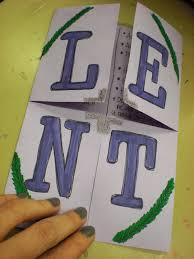 look to him and be radiant lent notes foldable