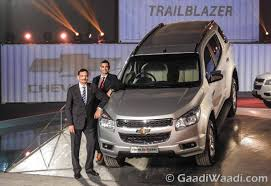 chevrolet trailblazer 2017 chevrolet trailblazer launched in india priced at rs 26 40 lakhs